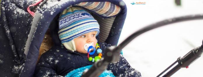 Portare fuori i neonati in inverno: rischi e benefici